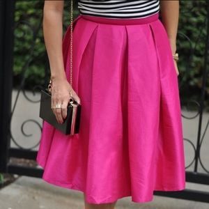 OFFERS ACCEPTED!!  pink midi skirt